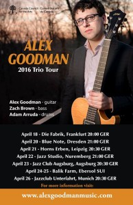 Alex Goodman European Tour